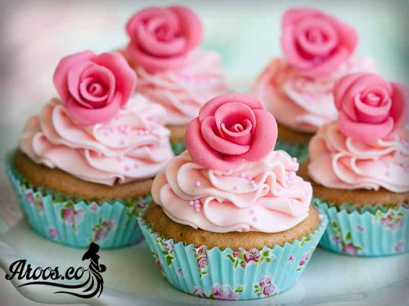 کاپ کیک عروسی سلطنتی