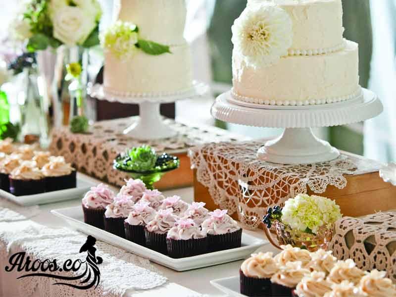 کیک عروسی مجلسی