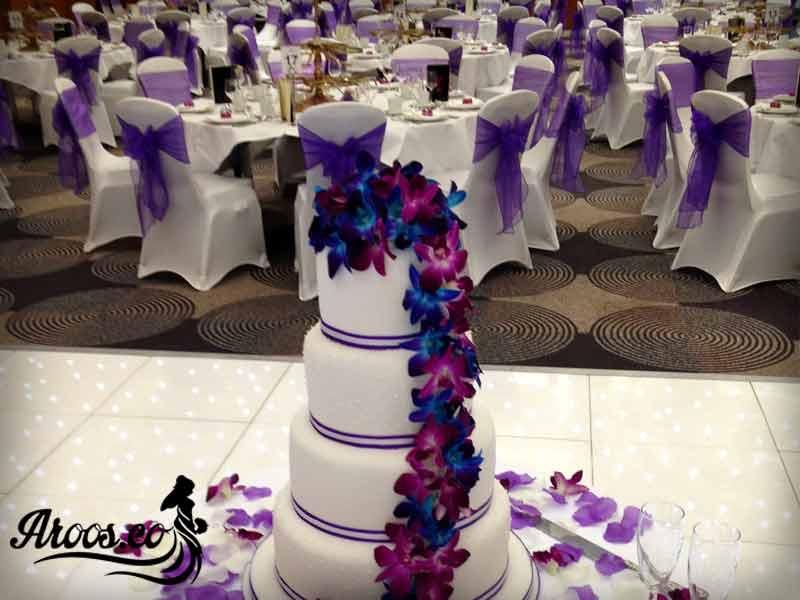 کیک های عروسی سلطنتی