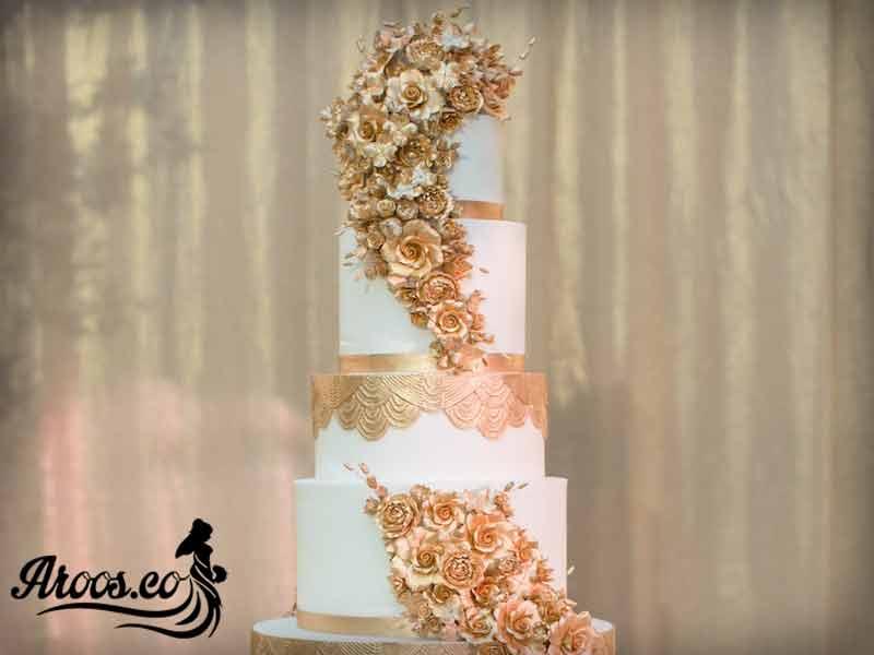 کیک عروسی مجلل