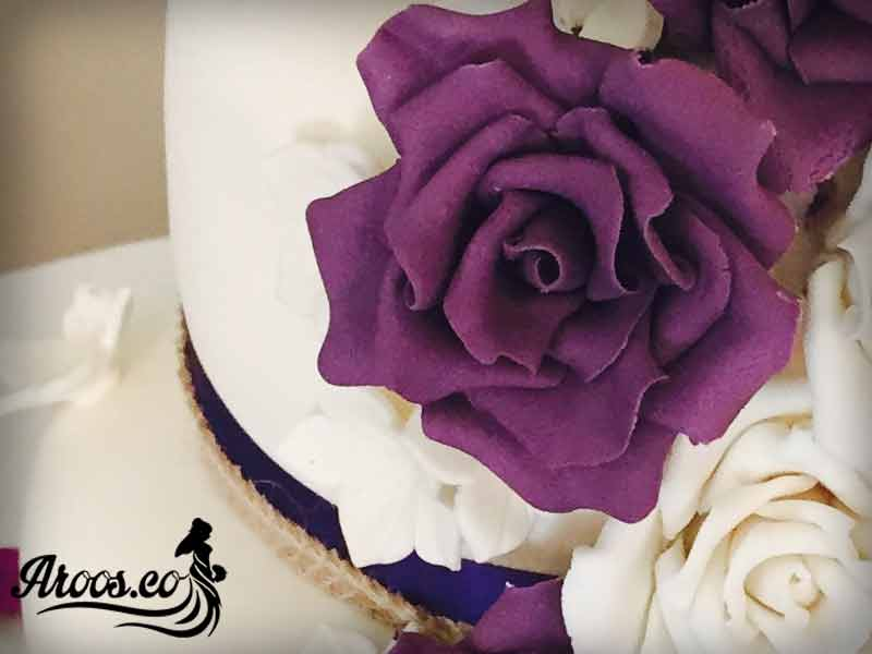 کیک عروسی اروپایی