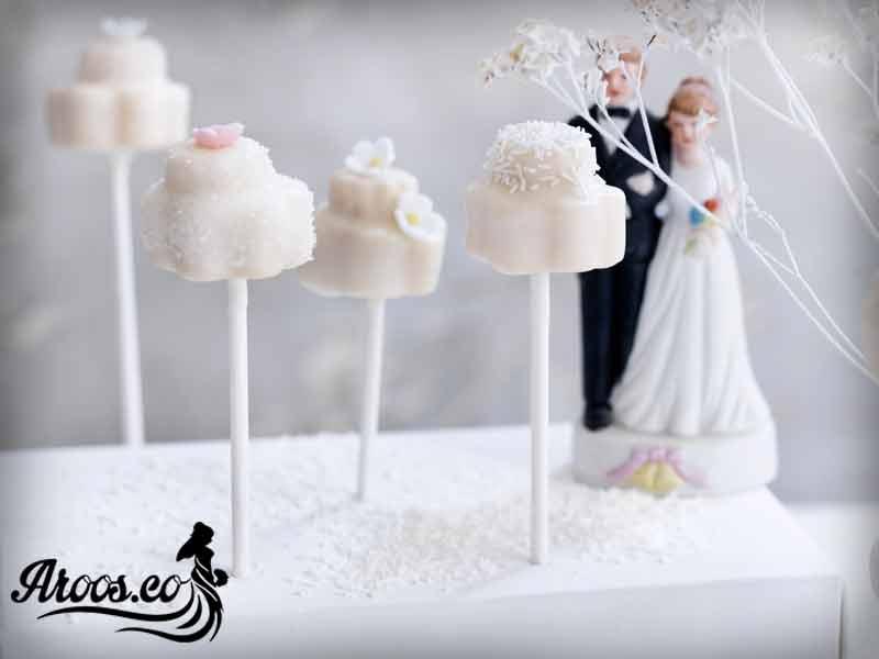 كيك عروسي خوشمزه
