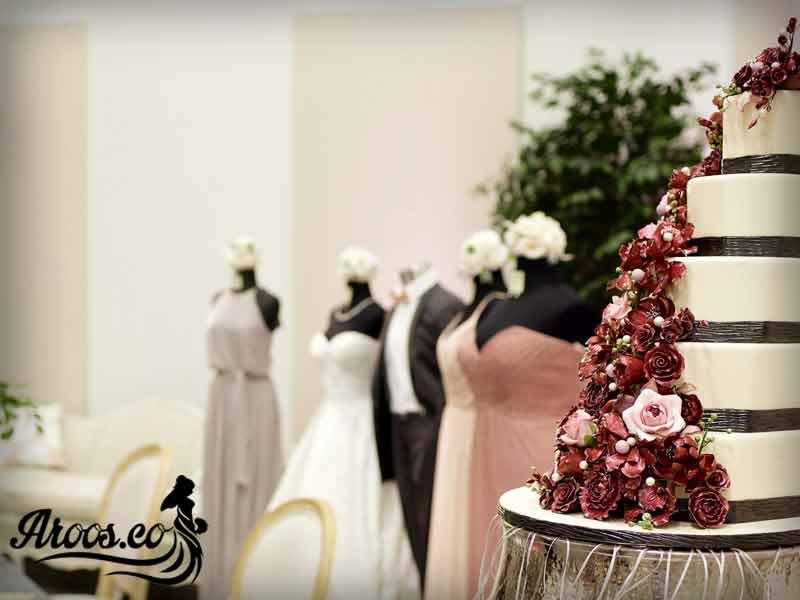 کیک عروسی عجیب