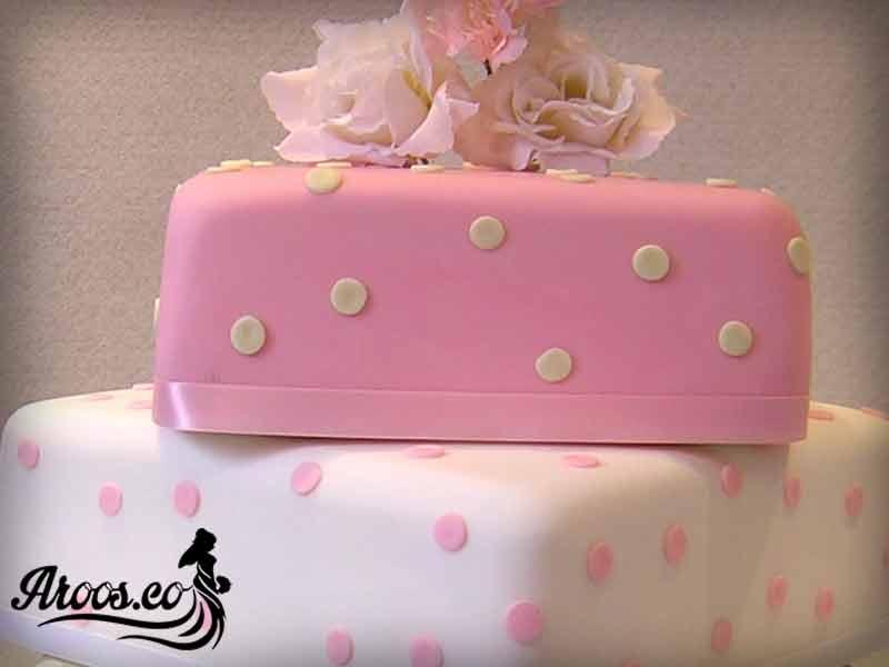 وزن کیک عروسی
