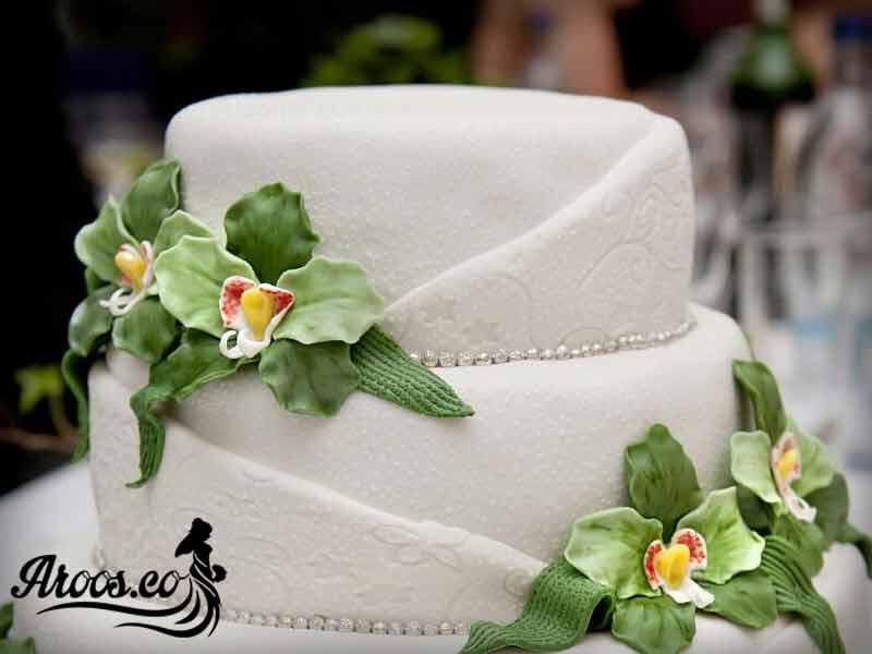 مدل تزیین کیک عروس
