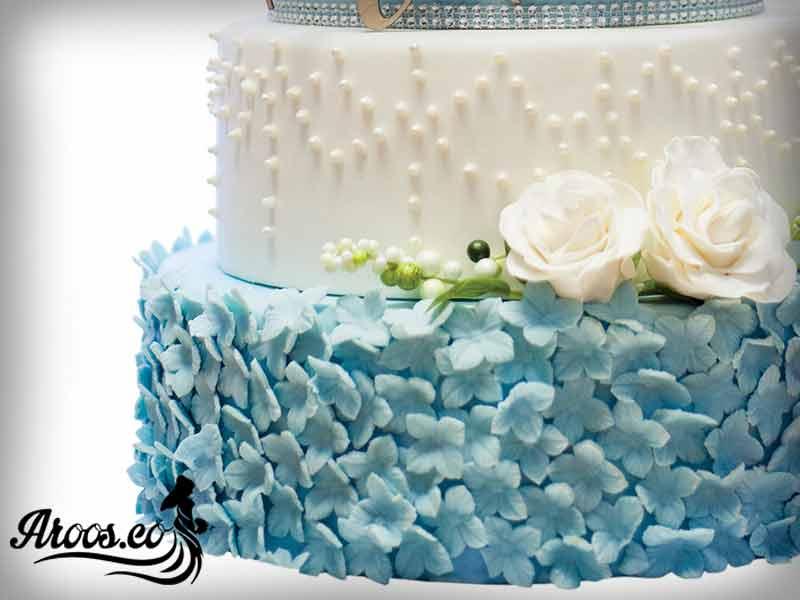 کیک عقد وعروسی