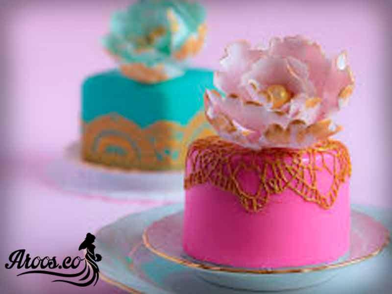کیک عروس مدرن