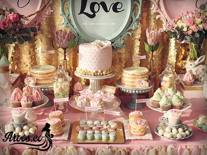 کیک عروس سنتی
