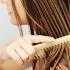 brushing-hair