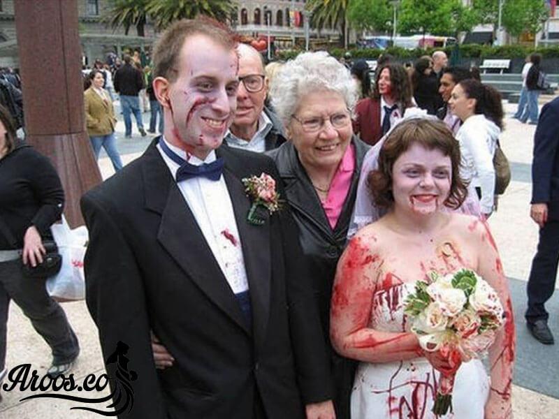 ازدواج عجیب و غریب این دختر خانم