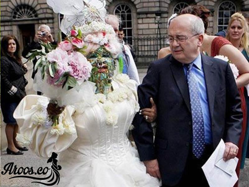 صحنه های عجیب در یک عروسی
