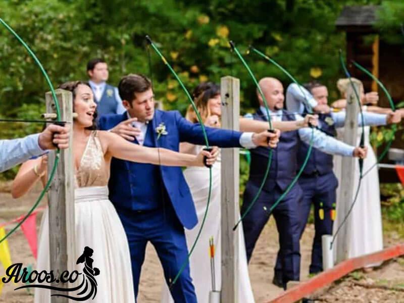 صحنه های عجیب و غریب و باورنکردنی در یک عروسی